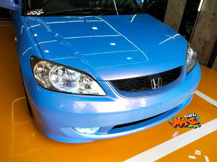 ทำสี Honda Civic Dimension